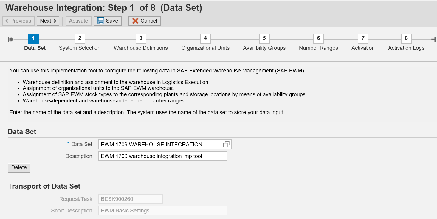 Basic Settings for SAP EWM in SAP S/4HANA 1709 | SAP Blogs