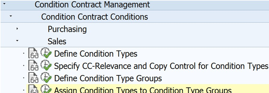 Configuration of Settlement Management.