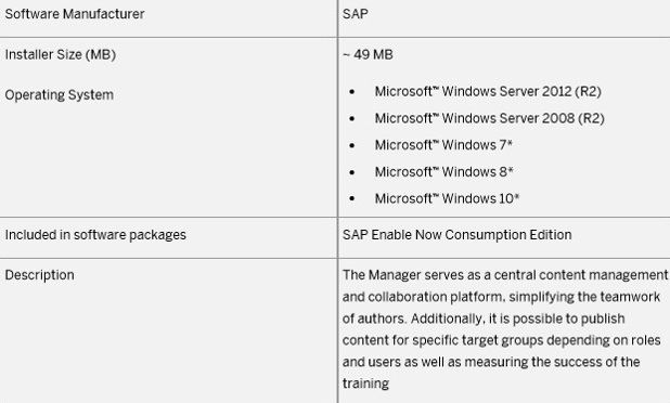 SAP Enable Now Manager – Installation | SAP Blogs