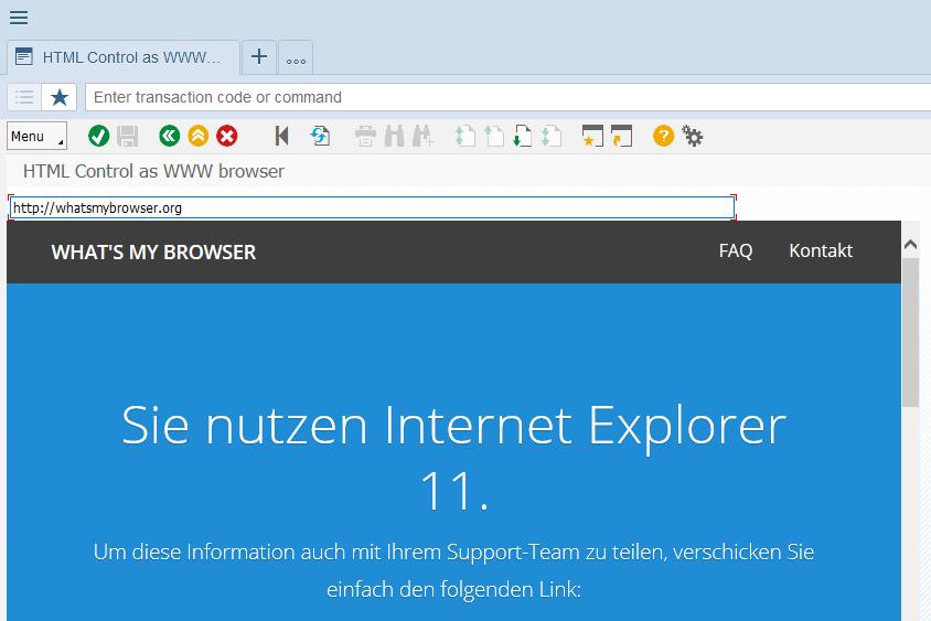 SAP Business Client 6 5 – with Chromium Web Browser Control   SAP Blogs