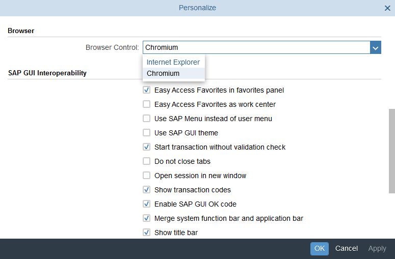 SAP Business Client 6 5 – with Chromium Web Browser Control | SAP Blogs