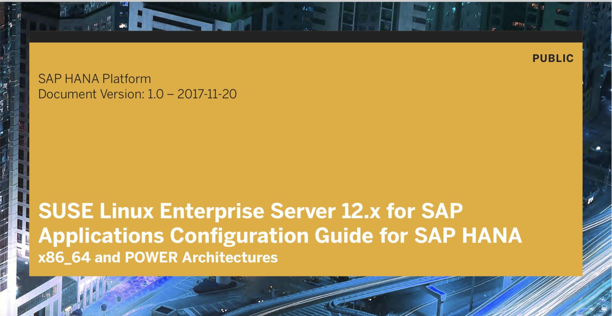 SAP HANA 2 0 Server Installation – by the SAP HANA Academy | SAP Blogs