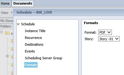 scheduling enhancements for lumira 2 1 sap blogs
