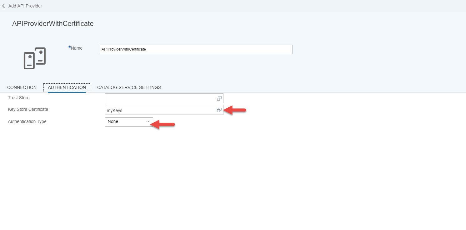 Sap cloud platform api management client certificate select the apis tab and then click create button to create an api proxy which requires the certificate authentication and the from the api provider drop 1betcityfo Gallery