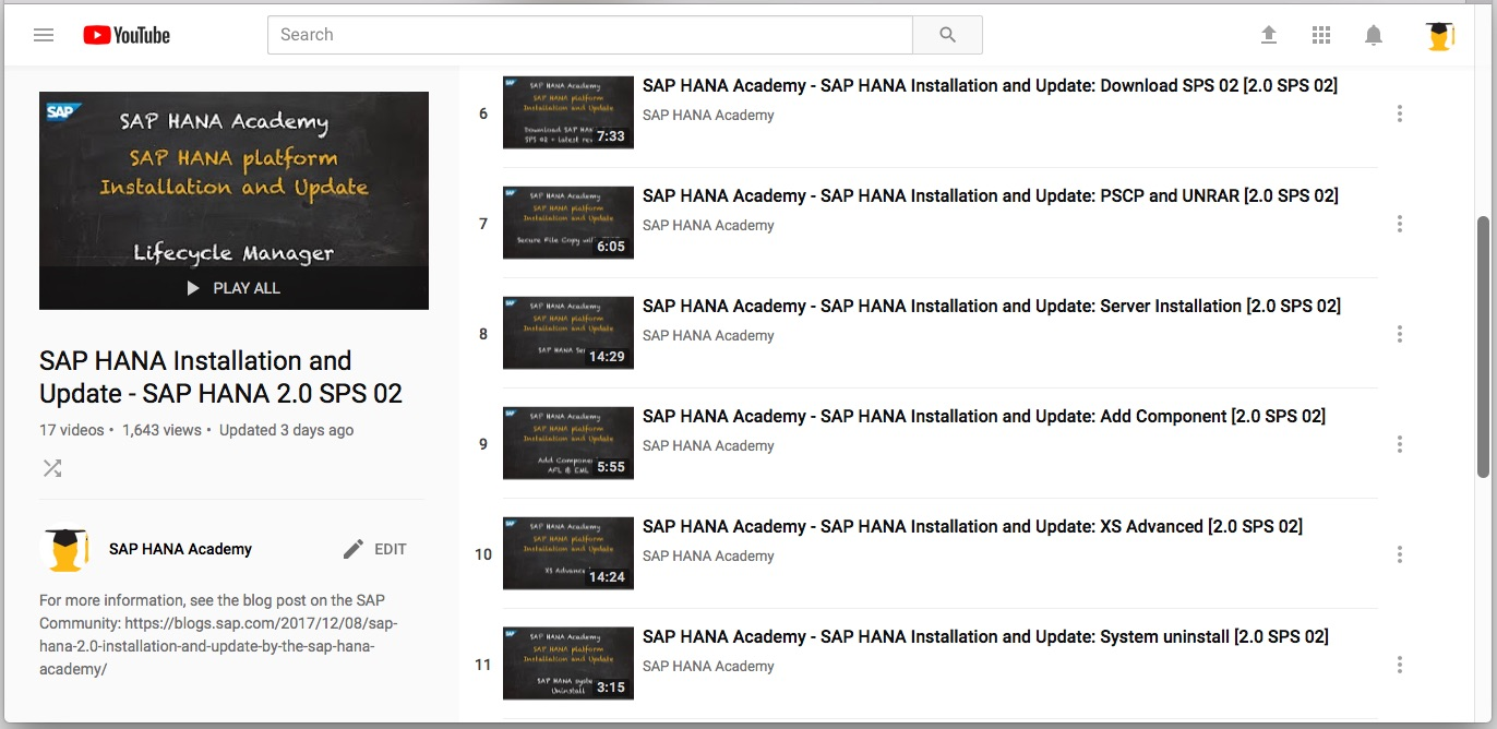 SAP HANA Installation Automation – by the SAP HANA Academy
