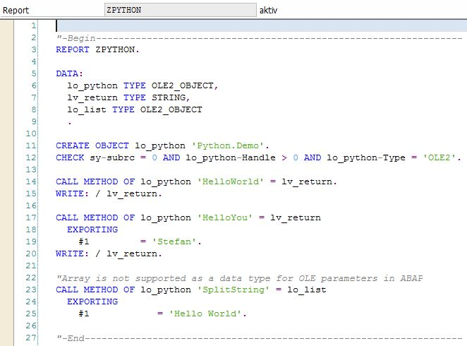 How To Use Python Seamlessly Inside ABAP | SAP Blogs