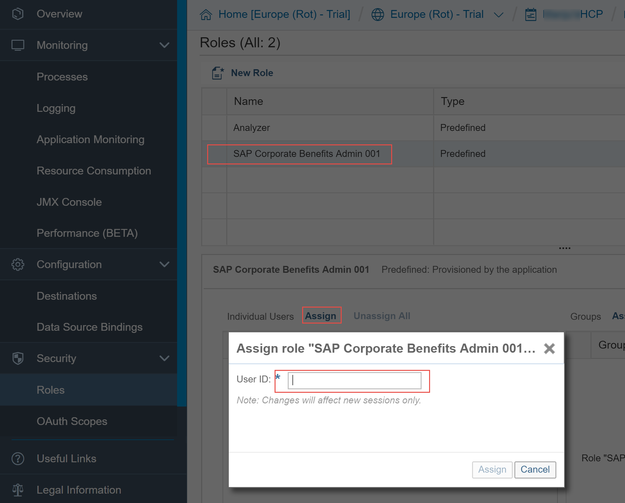How to deploy Java based SuccessFactors extension apps to SAP Cloud