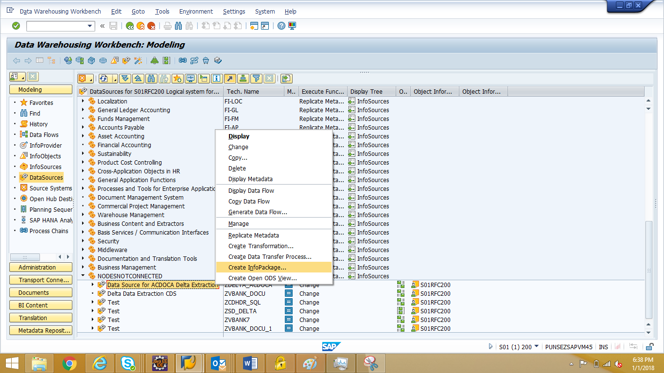 Delta Extraction and Real Time Streaming ODP-CDS to BW | SAP Blogs