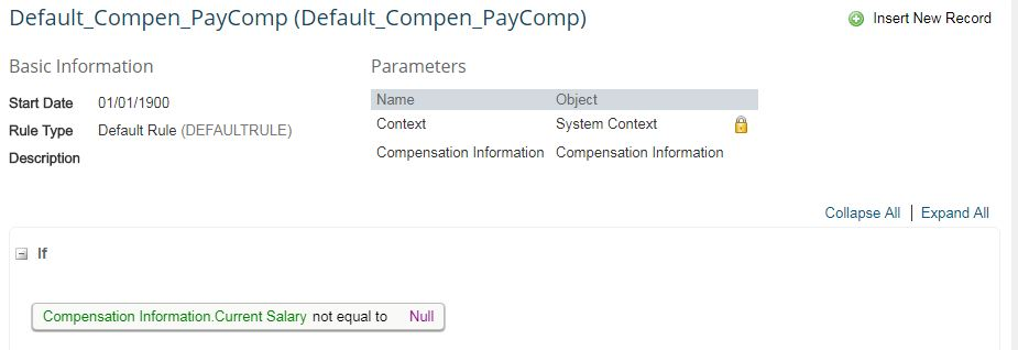 Automatic Propagation of Salary Structure (Pay Components