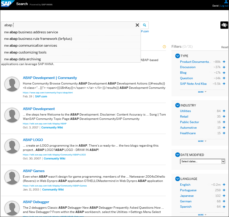 New Search UI is Live! | SAP Blogs