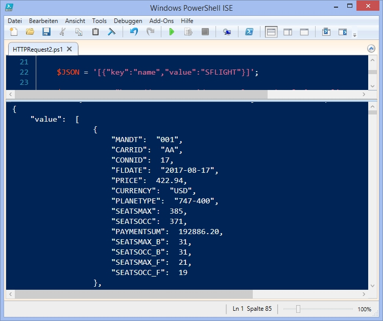 How To Connect SAP with PowerShell via HTTP Request   SAP Blogs