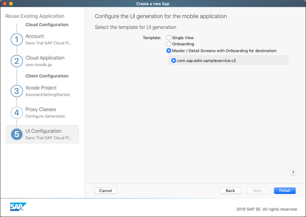 Getting Started with the SAP Cloud Platform SDK for iOS