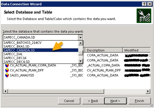 how to connect sap to excel