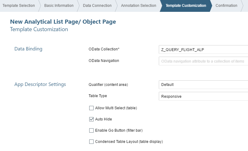 Create an Analytical List Page using ABAP CDS views and