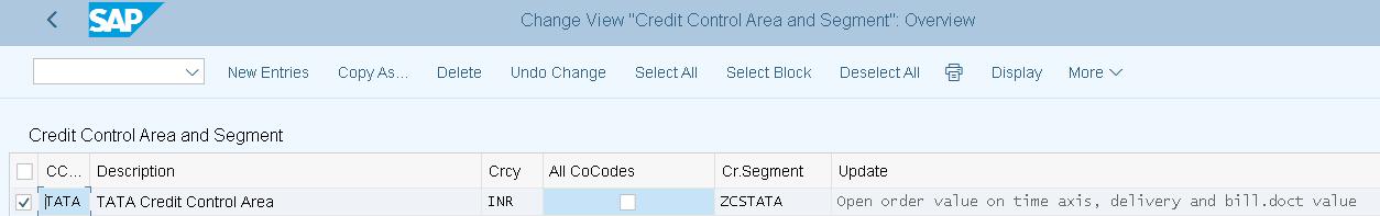 FSCM Credit Management in SAP S/4 HANA