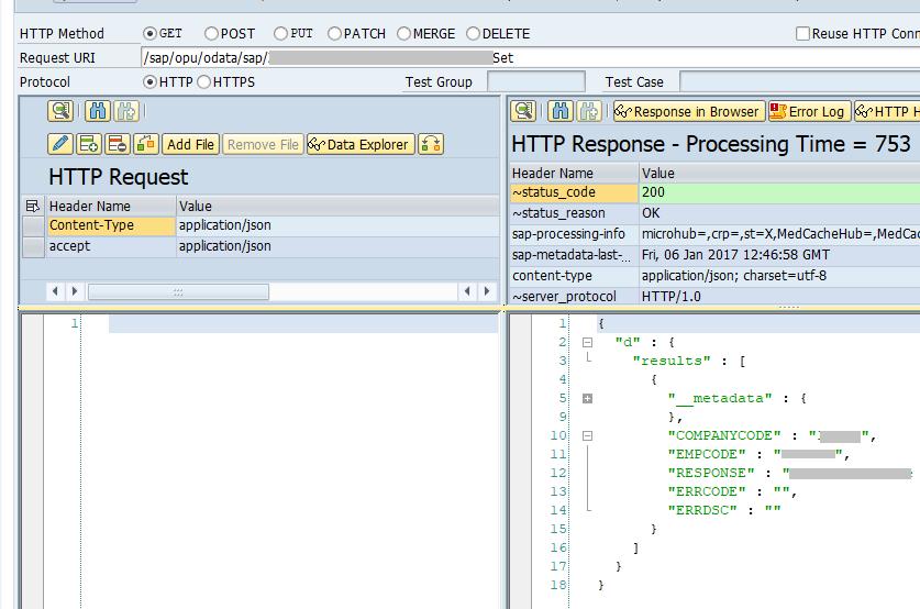 SAP oData Service [POST]: Multiple Table Input | SAP Blogs
