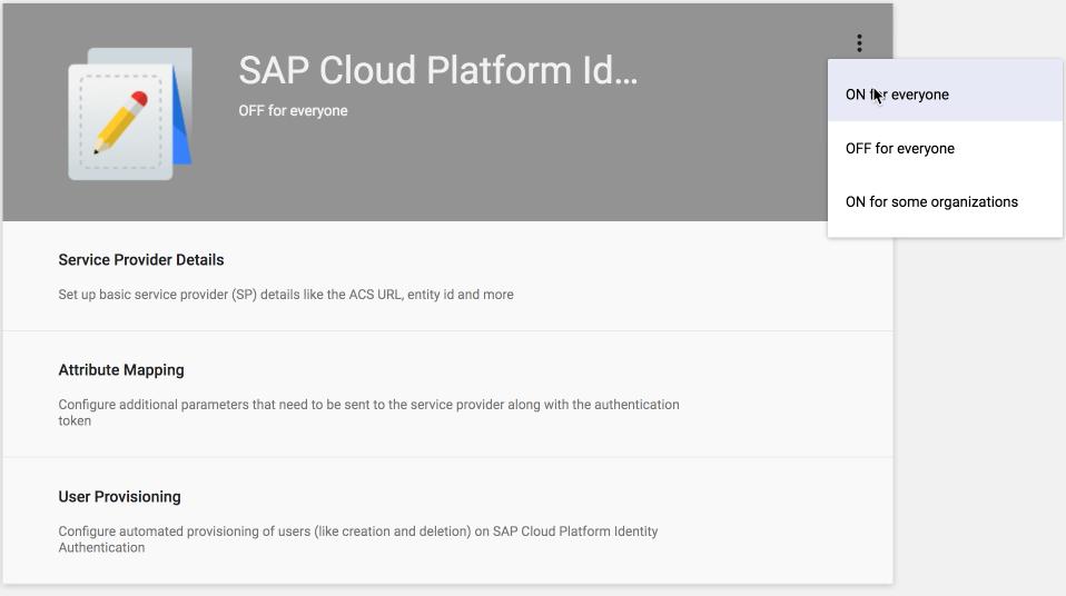 Integrating SAP SuccessFactors with Google Cloud Identity