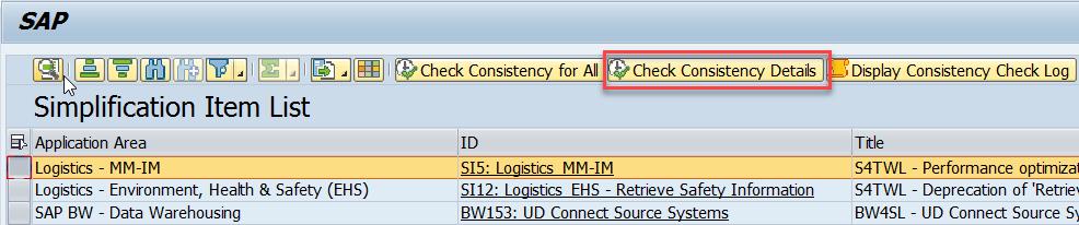 SAP S/4HANA Simplification Item Check – How to do it right  | SAP Blogs