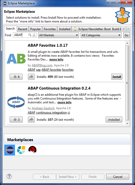 ABAP in Eclipse Installation & Configuration - YouTube