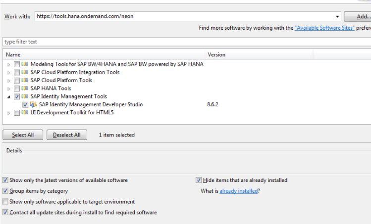 How to install previous version of IDM Developer Studio
