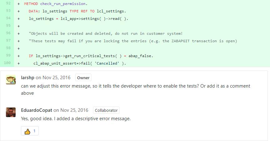 ABAP Code Reviews with abapGit | SAP Blogs