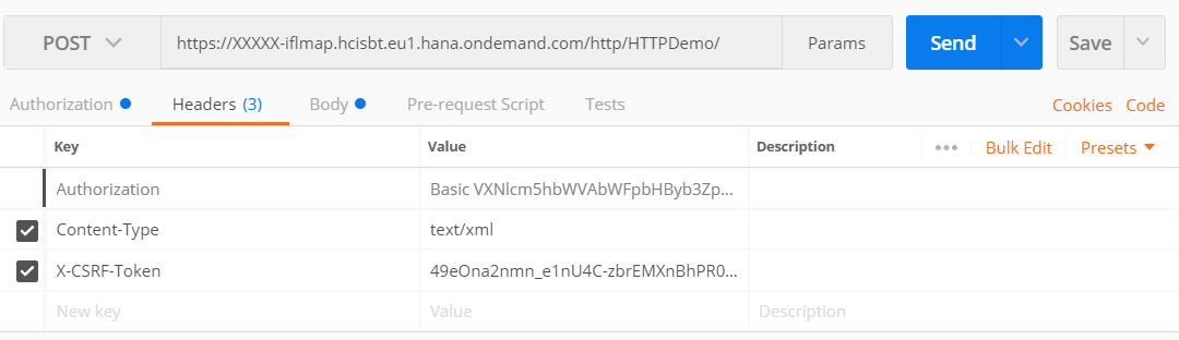 Working with HTTP-Input in SAP Cloud Platform Integration