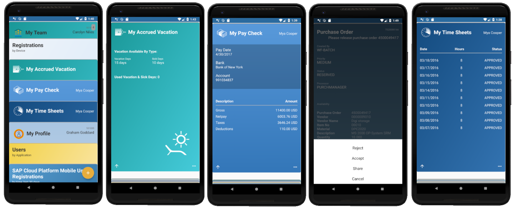 SAP Mobile Cards expands client support to Android | SAP Blogs