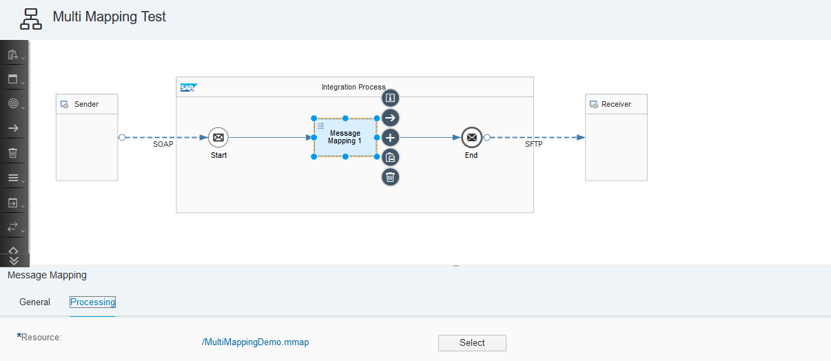 SAP Cloud Platform Integration – Multi Mapping in Message Mapping