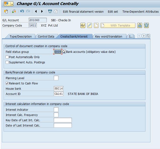 S/4 Hana – House Bank Creation and Check Lot Creation | SAP