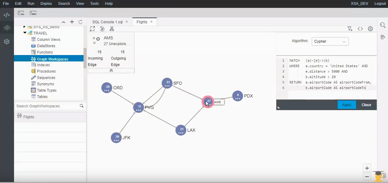 Enhancements to Graph Processing in SAP HANA 2 0 SPS 03 | SAP Blogs