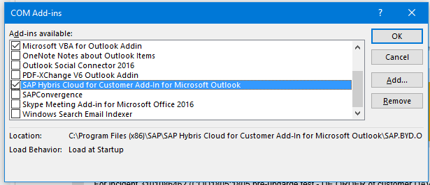 FAQs – SAP Outlook Add-in for C4C | SAP Blogs