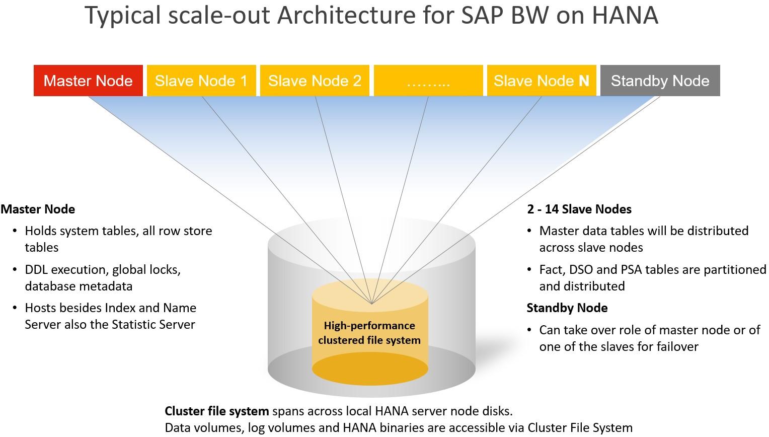 Managing large SAP BW on HANA systems: SAP HANA Enterprise