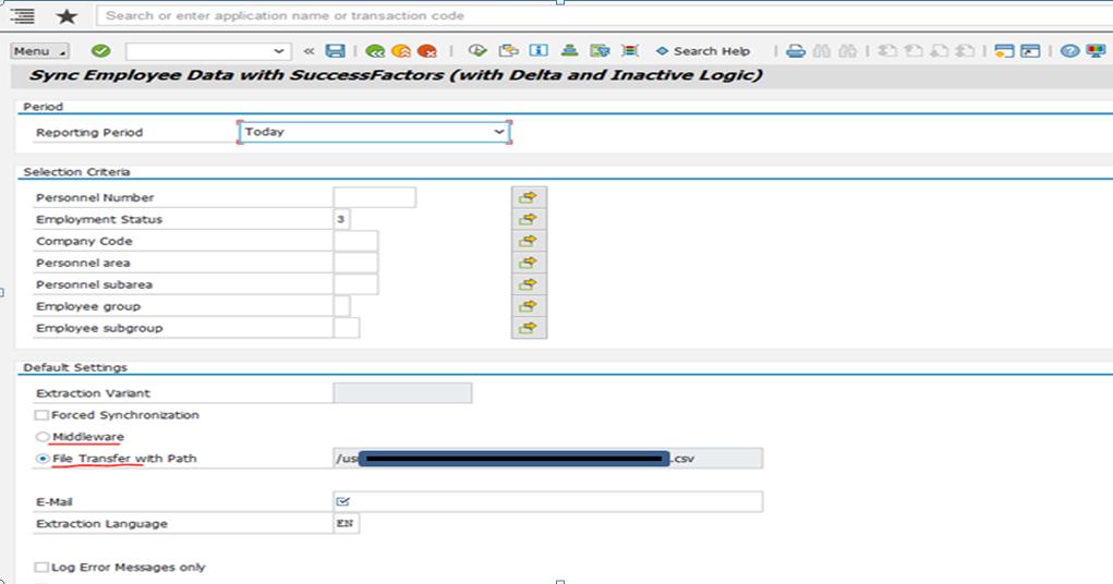 SAP on premise integration with SuccessFactors | SAP Blogs