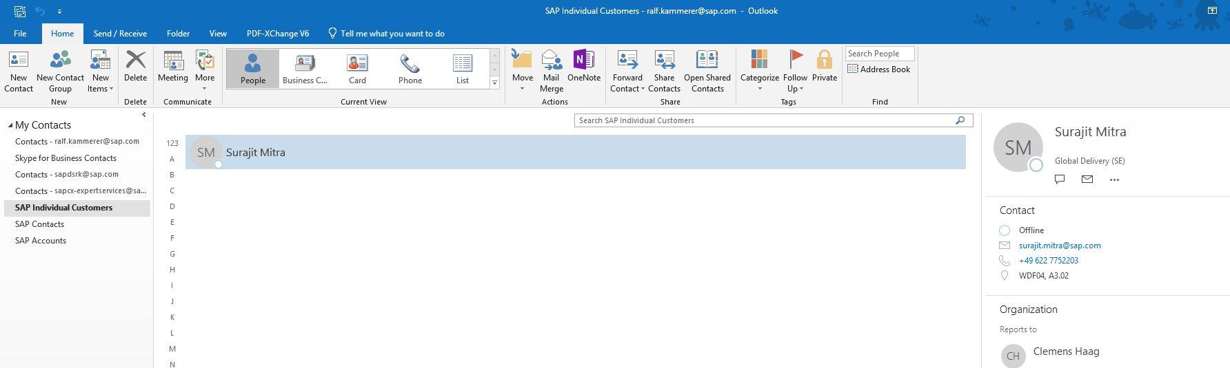 C4C Server side Integration with Microsoft Outlook | SAP Blogs