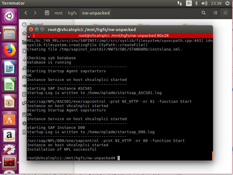 Installing SAP NetWeaver Developer Edition on an Ubuntu