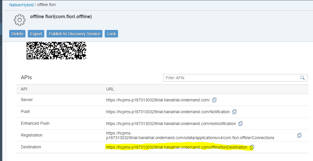 Creating an Offline CRUD hybrid mobile app in SAP Web IDE