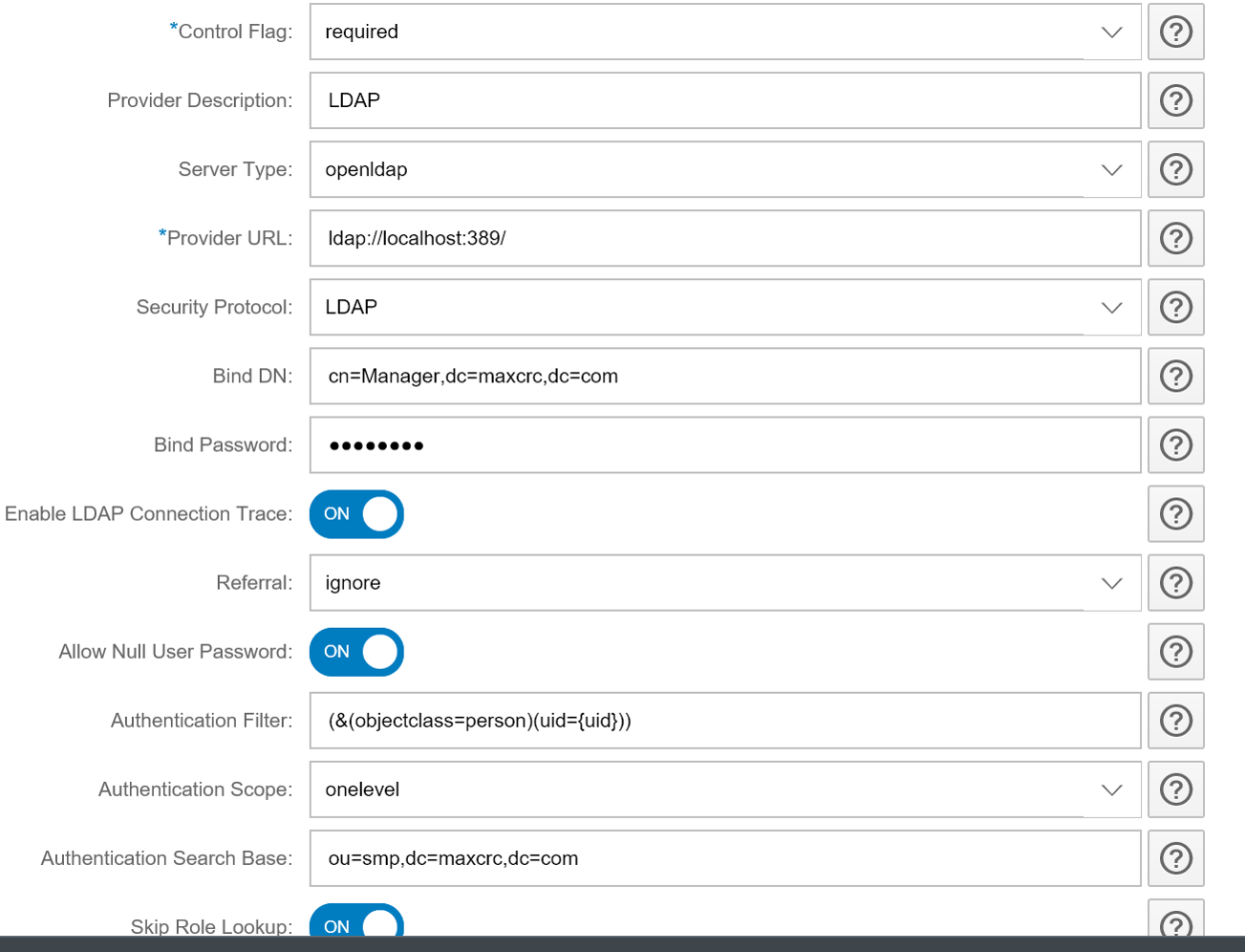 How to configure SAP Work Manager SSO with SMP LDAP Authentication