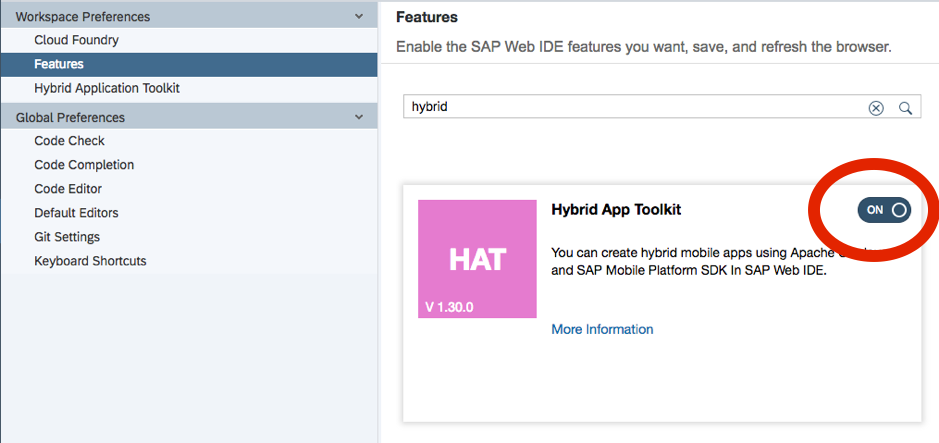 Creating an Offline CRUD hybrid mobile app in SAP Web IDE