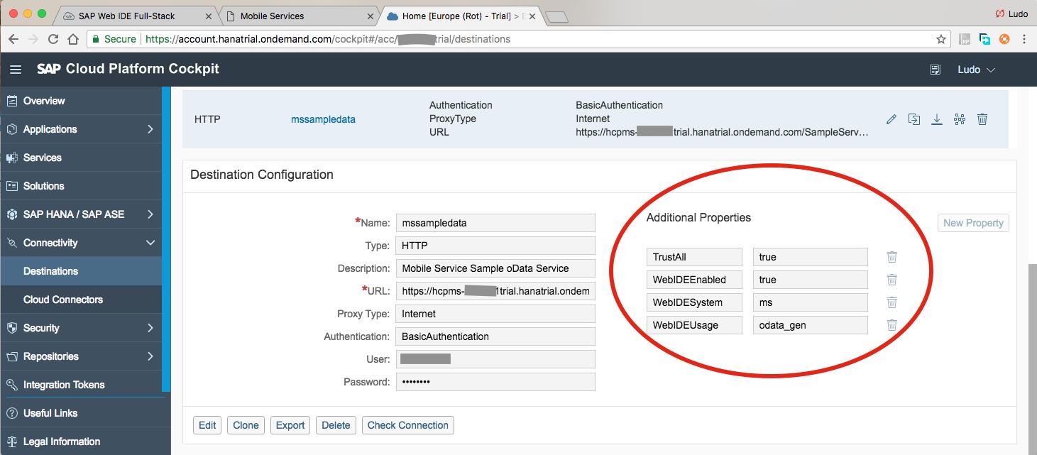 Creating an Offline CRUD hybrid mobile app in SAP Web IDE Full-Stack