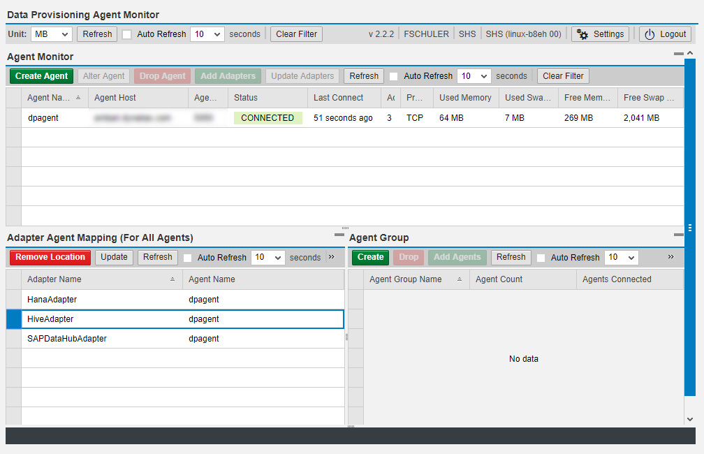 Leverage your SAP Data Hub Adapter with SAP Agile Data