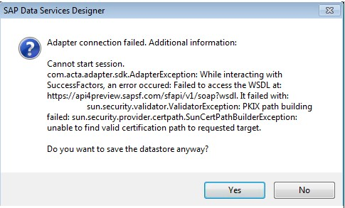 SAP SuccessFactors Integration With SAP BW Using SAP Data