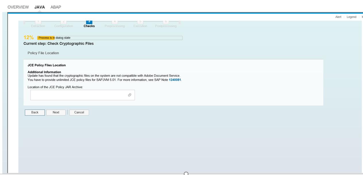 SAPJVM update procedure using SUM with Screenshots | SAP Blogs