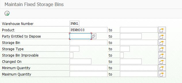 Fixed Bin concept in SAP WM vs EWM | SAP Blogs