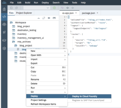 Enable Application router for SaaS on cloud foundry | SAP Blogs