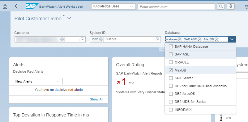 Now available: SAP EarlyWatch Alert Workspace for all