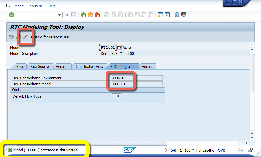 BPC Real-Time Consolidation (RTC) Initial setup | SAP Blogs