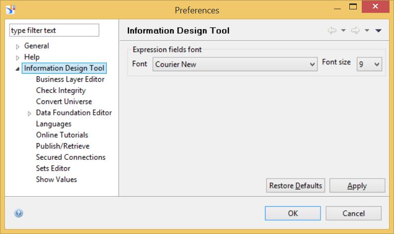 Sap bo information design tool ppt