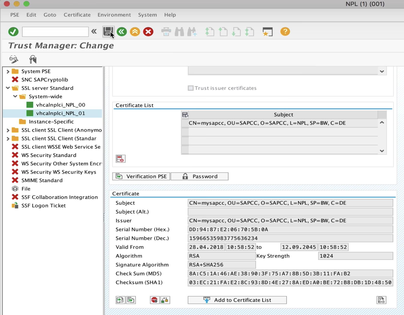 Configure SAPCC + NW ABAP for Principal Propagation + Docker