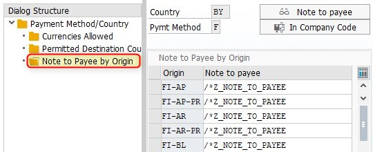Note to payee functionality in SAP – part 1 | SAP Blogs