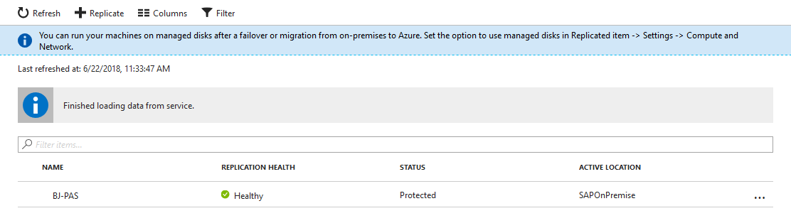 Your SAP on Azure – Part 7 – Protect SAP landscape with Azure Site